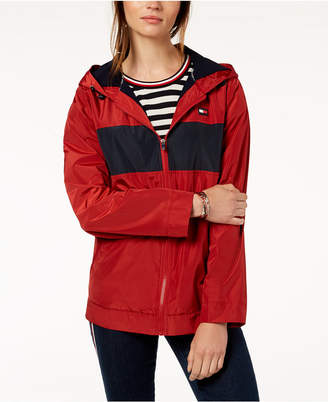 Tommy Hilfiger Hooded Windbreaker Jacket