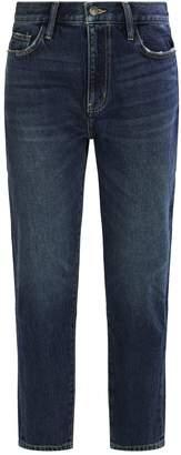 Current/Elliott Current Elliott Vintage Crop Slim Jeans