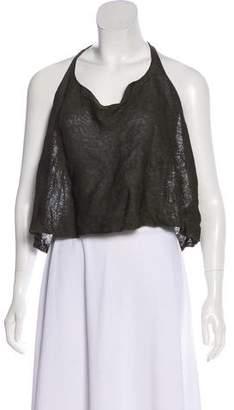 Ralph Lauren Black Label Silk Sleeveless Top