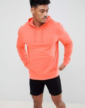Asos DESIGN Hoodie In Orange