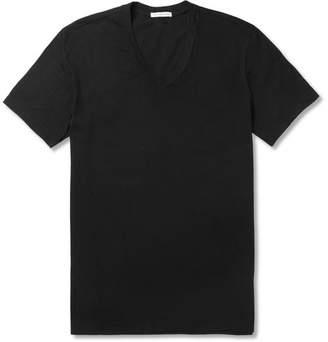 James Perse Cotton-Jersey T-Shirt - Black