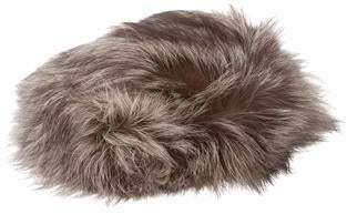 Halston Fox Fur Hat