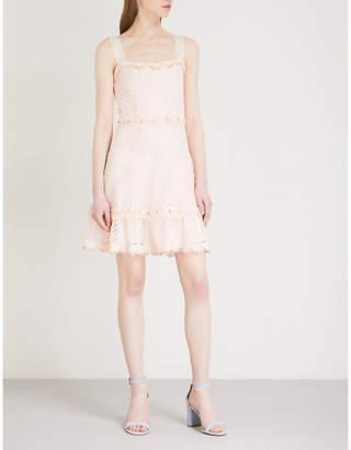 Maje Rosalina lace mini dress