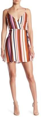 Honeybelle Honey Belle Striped Wrap Dress