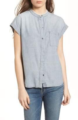 AG Jeans The Liza Engineer Stripe Shirt