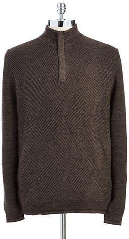 Tommy Bahama Half Zip Knit Sweater
