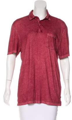 John Varvatos Short Sleeve Knit Top
