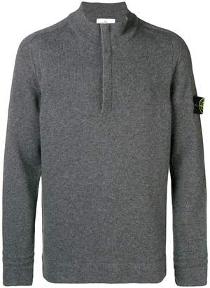 Stone Island half zip sweater
