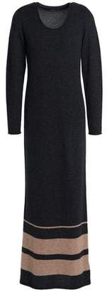 James Perse Mélange Cashmere Maxi Dress