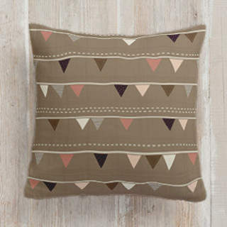 Bunting flags Square Pillow