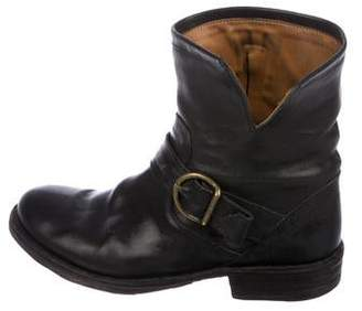 Fiorentini+Baker Leather Distressed Ankle Boots