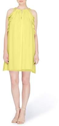 Catherine Malandrino Natalie Tie Shoulder Shift Dress