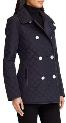 Lauren Ralph Lauren Double Breasted Quilted Coat
