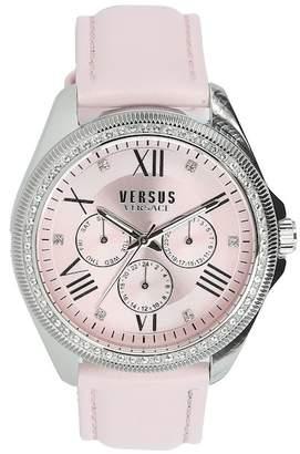 Versace Women's Elmont Swarovski Crystal Accent Watch, 40mm