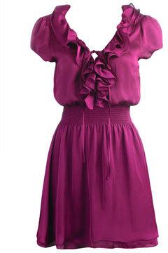 Charm Ruffle Dress