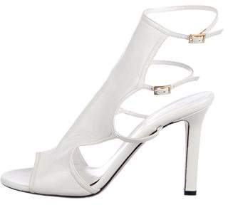Tamara Mellon Leather Ankle Strap Sandals