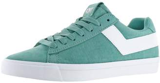 Pony Top Star Core Women's Suede Retro Fashion Sneaker Shoes Green Size 7.5