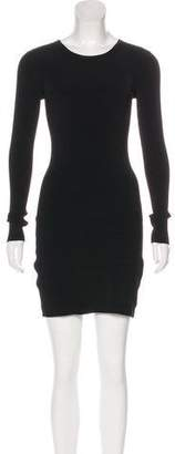 Elizabeth and James Long Sleeve Mini Dress