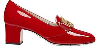 Gucci Women's Patent Leather Pumps - Red