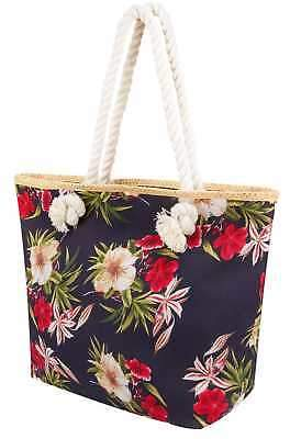 Yours Clothing Women's Floral Print Beach Bag