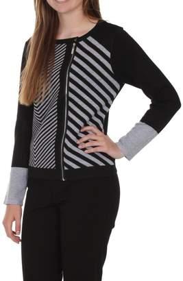 Ravel Grey Black Sweater
