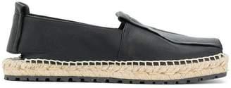 Paloma Barceló ridged heel espadrilles
