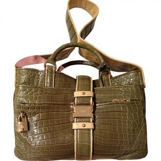 Loewe Crocodile Shoulder Bag