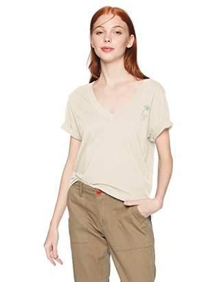 Hurley Women's V-Neck Short Sleeve Graphic T Shirt