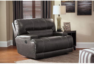Signature Design by Ashley Mccaskill Oversized Leather Power Recliner