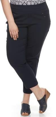 Briggs Plus Size Millennium Pull-On Ankle Pants