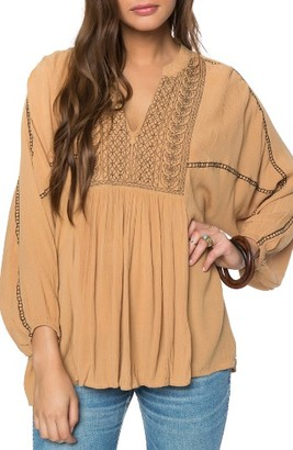 Women's O'Neill Malek Peasant Top $54 thestylecure.com