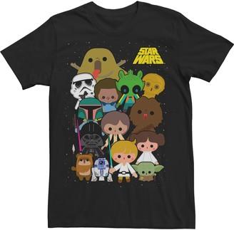 Star Wars Licensed Character Men's Cartoon Character Tee
