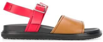 Marni colour block sandals