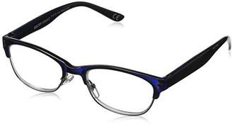 Foster Grant Women's Antonella 1017558-150.COM Round Reading Glasses