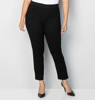 Avenue Butter Denim Pull-On Skinny Jean in Black 28-32