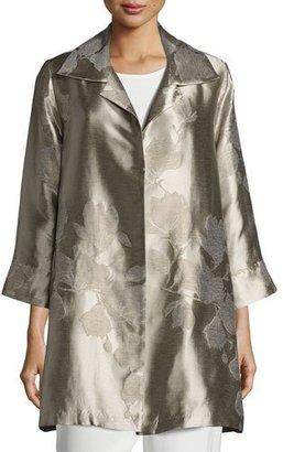 Caroline Rose Fine Vines Jacquard Party Jacket $435 thestylecure.com