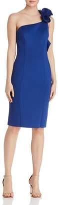 Aqua One-Shoulder Scuba Dress - 100% Exclusive