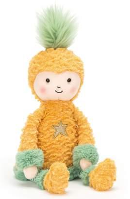 Jellycat Perkies Pineapple Princess Stuffed Doll
