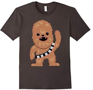 Star Wars Chewbacca Cutie Cartoon Chewie Graphic T-Shirt