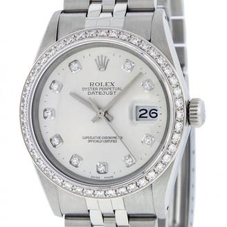 Rolex Vintage Datejust 36mm Silver Steel Watches