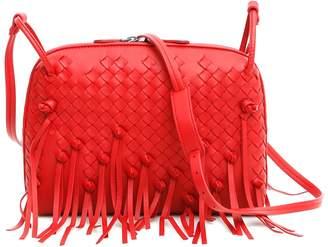 Bottega Veneta Fringe Nodini Shoulder Bag
