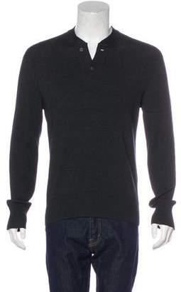 Tom Ford Merino Wool & Cashmere Henley Sweater