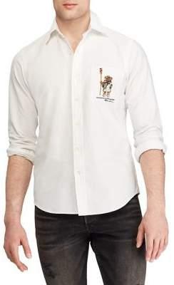 Polo Ralph Lauren Classic-Fit Polo Bear Cotton Shirt