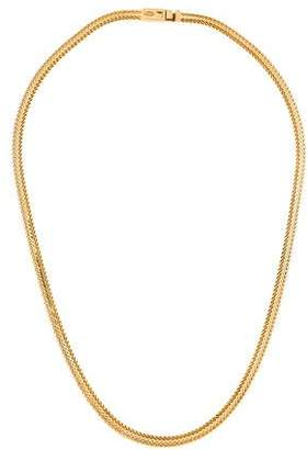 18K Woven Chain Necklace