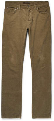 Nudie Jeans Grim Tim Sim-Fit Organic Stretch-Velvet Jeans