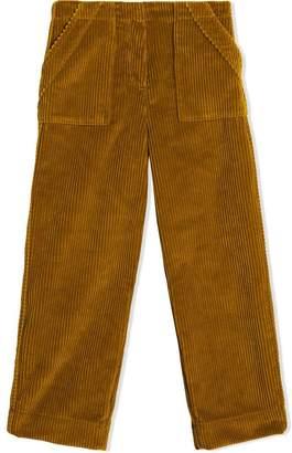 Burberry Corduroy Wide-leg Trousers