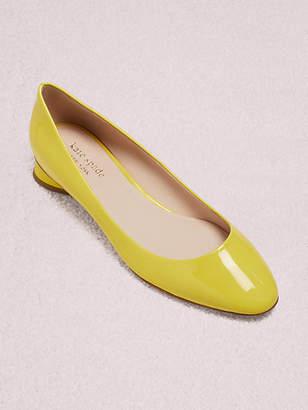 Kate Spade Fallyn Flats, Vibrant Canary - Size 5
