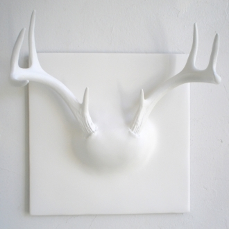 Pin It Erich Ginder Ghost Antler Coat Rack