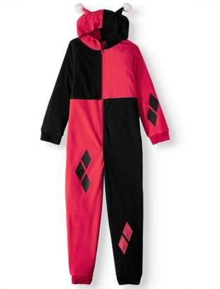 DC Comics Harley Quinn One Piece Costume Pajama