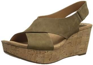 Clarks Women's Caslynn Shae Wedge Sandal $49.43 thestylecure.com